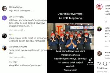 Kata YLKI soal Cara Karyawan KFC Minta Maaf ke Konsumen via TikTok