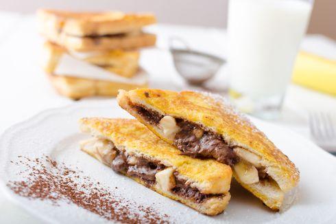 Resep Roti Bakar Cokelat Teflon, Camilan Nonton Bola yang Praktis