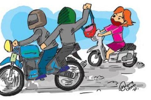 Main Ponsel Saat Dibonceng Motor, Wanita Muda Dijambret di Jagakarsa