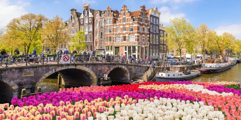 Ilustrasi Amsterdam