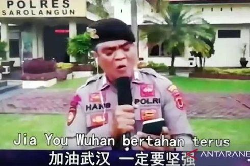 Bertemu Kapolri, Polisi Jambi yang Nyanyikan Lagu Jiayou Wuhan Ditawari Sekolah Perwira