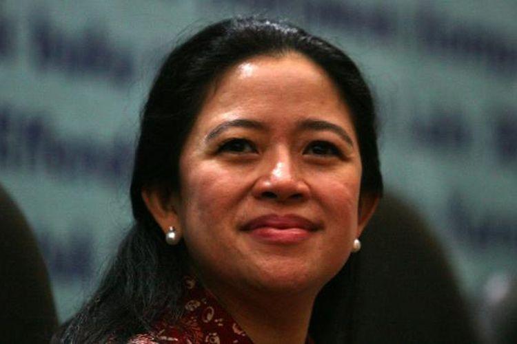 Ketua DPP Partai Demokrasi Indonesia Perjuangan Puan Maharani. Gambar diambil Kamis (5/9/2013).