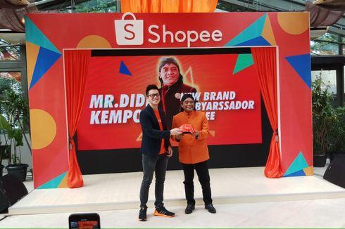 Ambyar! Didi Kempot Jadi Brand Ambassador Terbaru Shopee Indonesia
