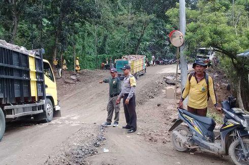 Bukit Girijaya Bogor Longsor, Akses Jalan Jonggol-Cikalong Terputus