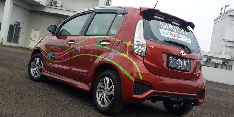 Sirion juga diapsarkan sebagai Perodua Myvi, mobil terlaris di Malaysia.
