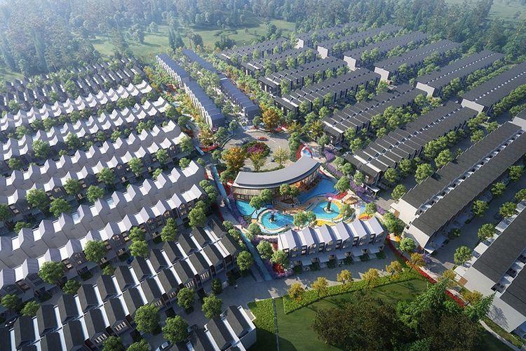 PT Yiho Jakarta Real Estate Development, anak perusahaan New Yi-Ho Holding Group Co. Ltd, mengembangkan Sentosa Park di Tangerang.