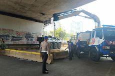 Polisi Tambah Dua Lapis Separator untuk Tutup Akses ke DPR