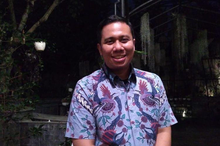 Perwakilan komunitas Andalan Nusantara Tangguh (ANT), Abbi Angkasa Perdana Darmaputra.