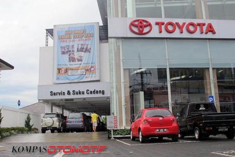 Dealer Toyota, Hasjrat Abadi Manado.