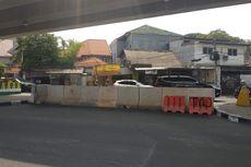 U-Turn di Depan Pasar Cipete Selatan Ditutup, Lalu Lintas Lebih Lancar