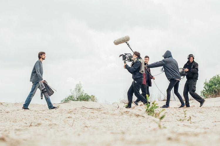 Ilustrasi proses syuting film pendek