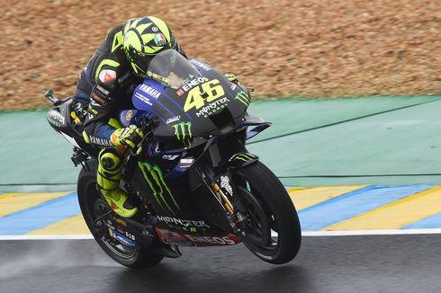 Hasil MotoGP Perancis 2020, Valentino Rossi Gagal Finis Lagi