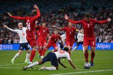 2 Hal yang Bikin Penalti Inggris Jadi Kontroversi, Bola Lain di Lapangan