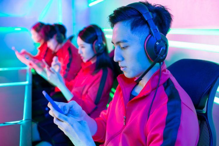 Ilustrasi kompetisi mobile gaming
