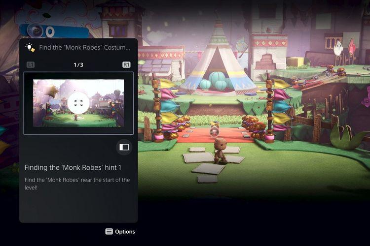 Fitur Game Help yang dapat menampilkan gambar dan video berisi bantuan ketika pemain terjebak di suatu level tertentu
