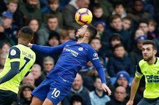 Chelsea Vs Huddersfield Town, Hazard Yakin Sarri Sudah Senang