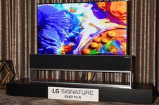 LG Pamer TV Pertama yang Bisa Digulung, Mulai Dijual Tahun Ini