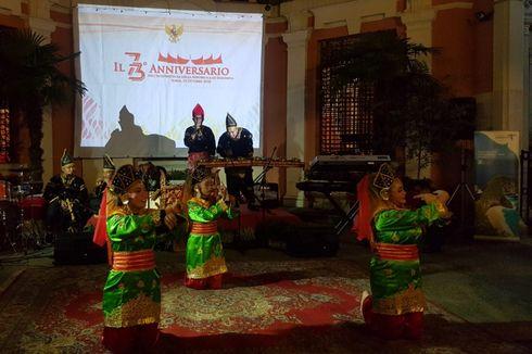 Pesona Sumatera Barat Hangatkan Resepsi Diplomatik RI di Roma