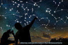 Mengapa Rasi Bintang hanya Bisa Dipelajari di Tempat Minim Cahaya?