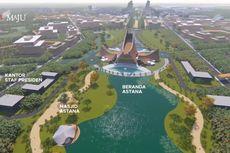 Istana Negara di Ibu Kota Baru: Garuda dan Pradesain yang Dipamerkan Jokowi