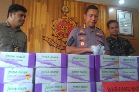 Polisi Bongkar Jaringan Penimbun Masker di Pontianak, Dijual Rp 300.000 via Medsos