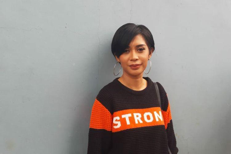 Karen Pooroe saat ditemui di kawasan Mampang, Jakarta Selatan, Senin (24/2/2020).