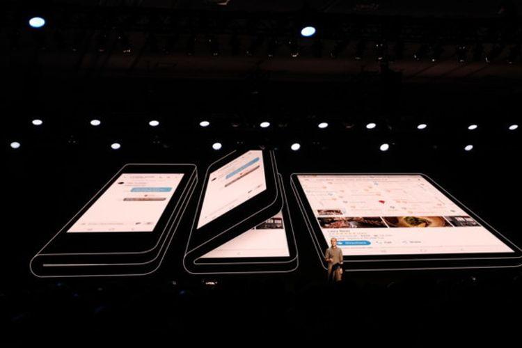 Samsung mengungkap spesifikasi layar yang bakal diusung pada ponsel layar lipat yang mereka produksi.