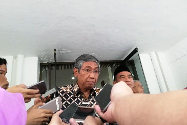 Wakil Menteri Keuangan Mardiasmo di Kementerian Koordinator Pembangunan Manusia dan Kebudayaan (PMK), Jakarta, Senin (2/4/2018)