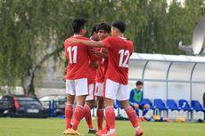 HT Timnas U19 Indonesia Vs Makedonia Utara - Elkan Baggott Solid, Witan Cetak Gol