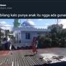 Viral Video Anak Diminta Ambil Bantal di Atap Rumah, Ini Tanggapan KPAI