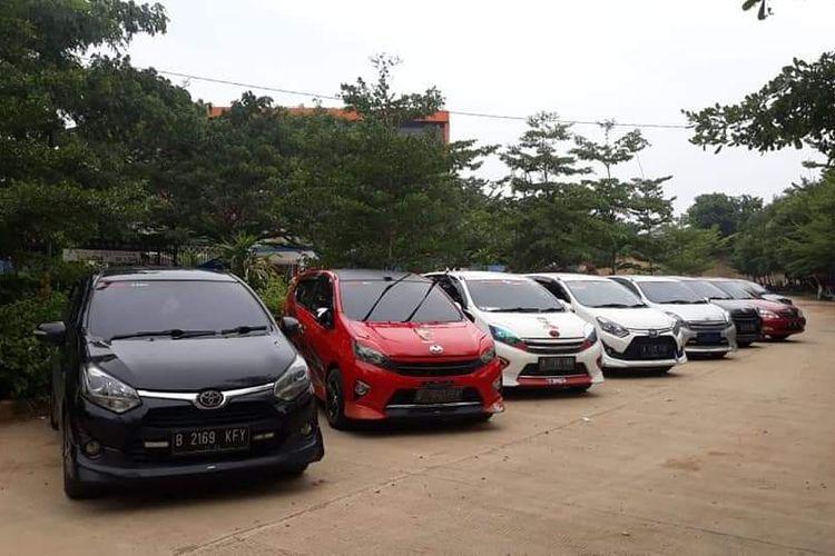 Ilustrasi komunitas Toyota Agya Club (TAC)