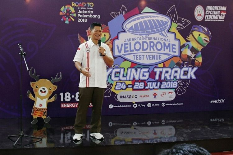 Acara ini dibuka langsung oleh Ketua Umum PB ISSI Raja Sapta Oktohari dan dihadiri pula oleh Pimpinan KONI dan KOI Pusat, Perwakilan dari INASGOC , Kadisorda DKI Jakarta, Direktur Operasi PT Jakpro, serta Satuan Kelengkapan Pimpinan Daerah wilayah administrasi Jakarta Timur.