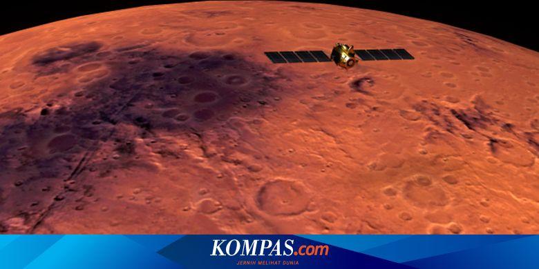 Pesawat Ruang Angkasa ESA Tangkap Awan Misterius d