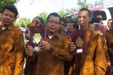 Pegawai Perusahaan Mebel Milik Jokowi Jadi Tamu Pertama Resepsi Gibran-Selvi