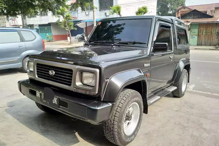 Daihatsu Rocky kondisi bekas harganya masih bertahan