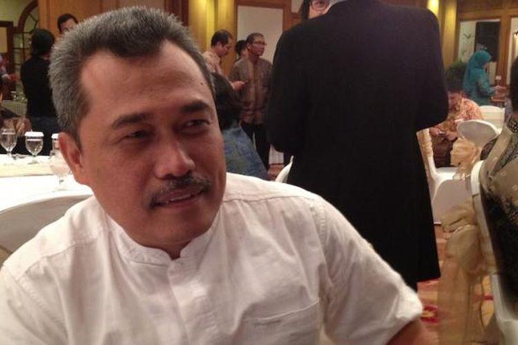 Anggota Badan Regulasi Telekomunikasi Indonesia (BRTI) Nonot Harsono