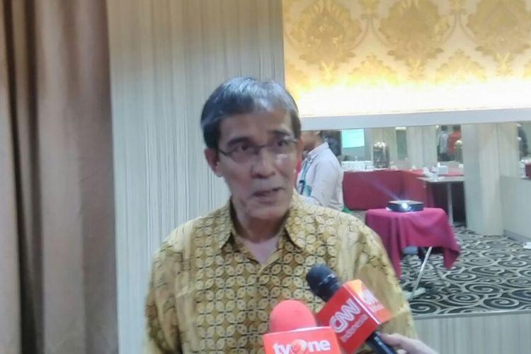 Mantan Komisioner Komisi Pemilihan Umum (KPU) Hadar Nafis Gumay di Jakarta, Minggu (22/10/2017).