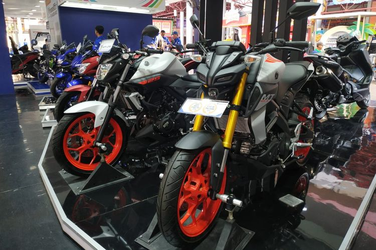 Yamaha MT-15 di Jakarta Fair Kemayoran 2019
