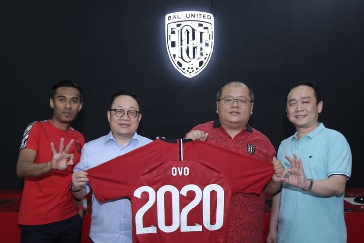 Bali United jalin kerjasama dengan platform pembayaran digital, OVO.