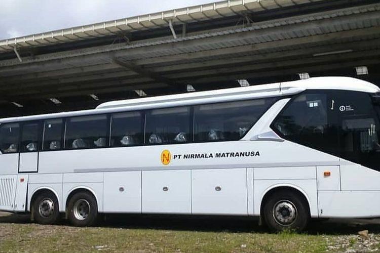 Bus tronton tambang