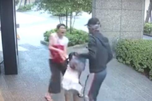 Pria di Taiwan Terekam Kamera Hendak Merebut Seorang Anak dari Ibunya