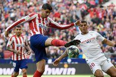 Hasil Atletico Madrid Vs Sevilla, Anti Klimaks pada Babak Kedua