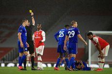 Arsenal Vs Leicester, Eddie Nketiah Kecewa dan Minta Maaf Kena Kartu Merah