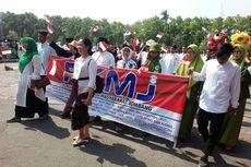 Peringati Hari Santri Nasional di Jombang, Kelompok Lintas Iman Ikut Apel dan Kirab