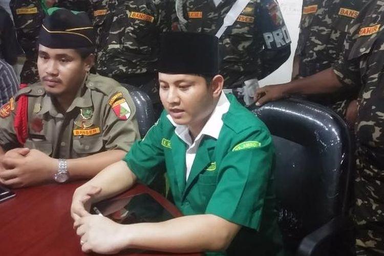 Pengurus Ansor Jawa Timur menggelar Kopdar Netizen NU di Surabaya, Minggu (29/1/2017)