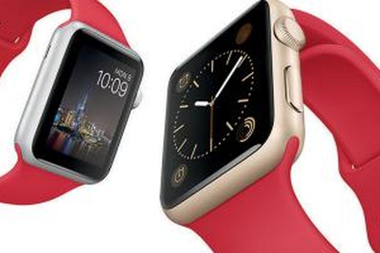Apple Watch edisi Imlek tersedia dalam dua varian warna, silver dan emas.