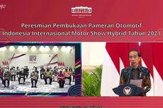 IIMS Hybrid Dibuka, Ini Harapan Jokowi untuk Sektor Otomotif Nasional