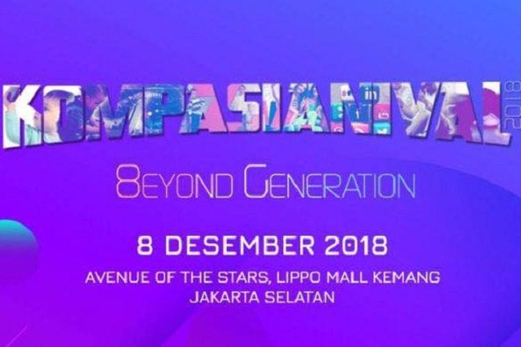 Kompasianival 2018 di Lippo Mall Kemang, Jakarta Selatan, 8 Desember 2018