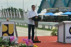 Dengan Basmalah, Jokowi Resmikan Ruas Tol Sragen-Ngawi