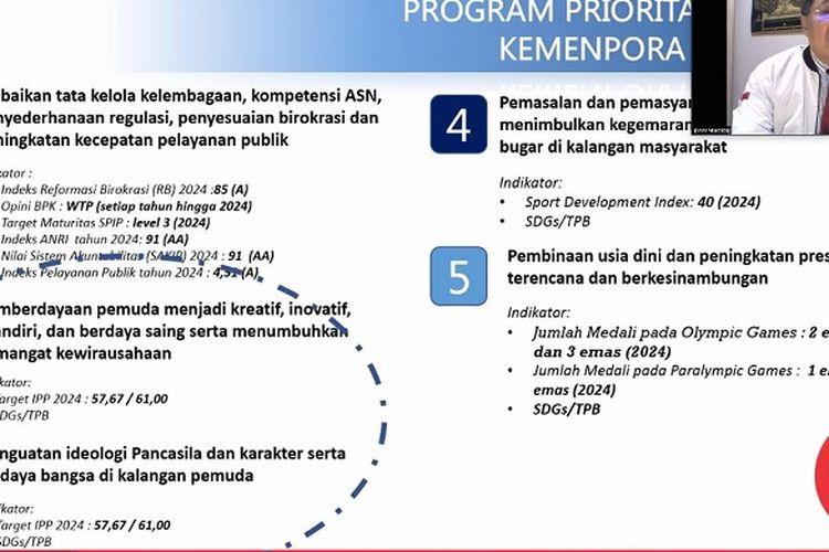 Program prioritas Kemenpora